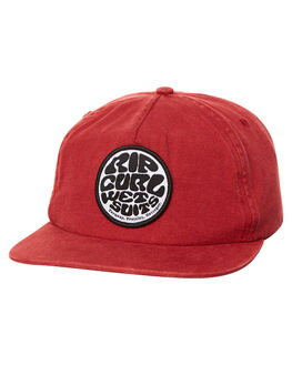 WASHED BLACK MENS ACCESSORIES RIP CURL HEADWEAR - CCALP13660