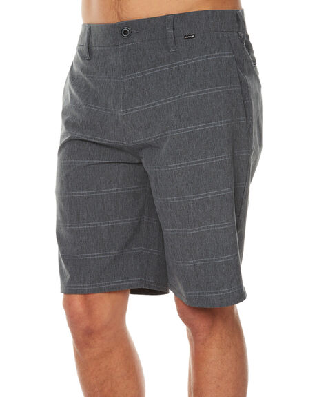 BLACK MENS CLOTHING HURLEY SHORTS - MWS000543000A
