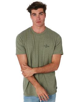 MILITARY HEATHER MENS CLOTHING BILLABONG TEES - 9595043MILHT