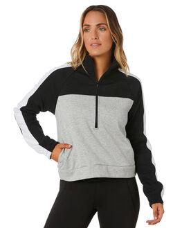 BLACK WOMENS CLOTHING HURLEY JUMPERS - CJ8736010