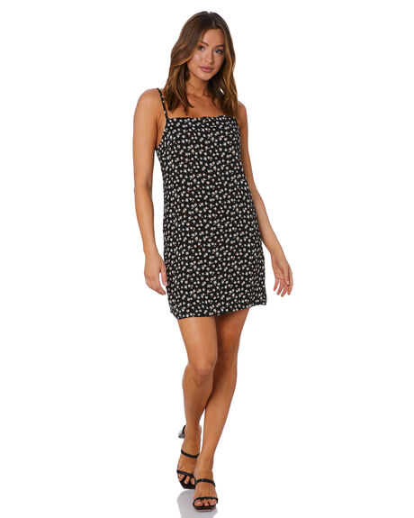 BLACK WOMENS CLOTHING RUSTY DRESSES - DRL1084BLK
