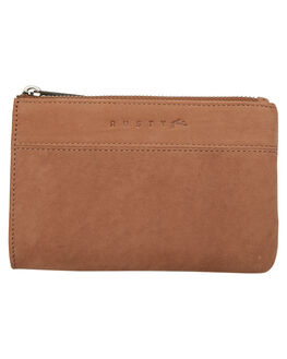 NOUGAT WOMENS ACCESSORIES RUSTY PURSES + WALLETS - WAL0691NOG