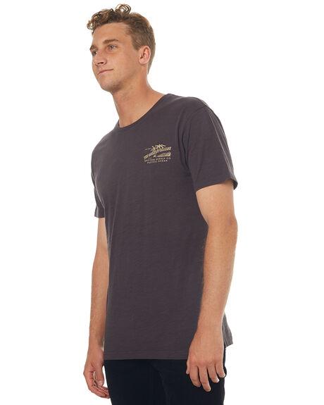 CHARCOAL MENS CLOTHING RHYTHM TEES - JUL17-TS04-CHA