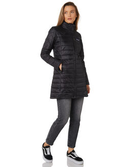 BLACK WOMENS CLOTHING PATAGONIA JACKETS - 27695BLK