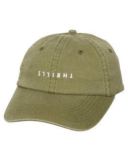 ARMY GREEN WOMENS ACCESSORIES THRILLS HEADWEAR - TH7-504FARM