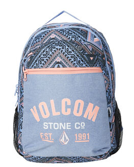 MISTY BLUE WOMENS ACCESSORIES VOLCOM BAGS + BACKPACKS - E6351876MYB