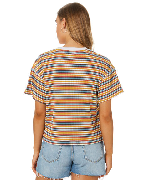 MUSTARD WOMENS CLOTHING RPM TEES - 9SWT06C6MUST