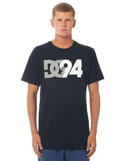 BLACK MENS CLOTHING DC SHOES TEES - UDYZT03454BLK