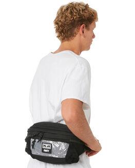BLACK MENS ACCESSORIES OBEY BAGS + BACKPACKS - 100010116BLK
