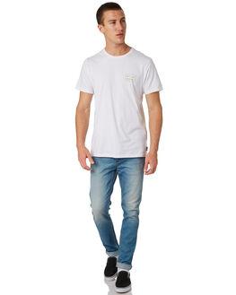 WHITE MENS CLOTHING BILLABONG TEES - 9585006WHT