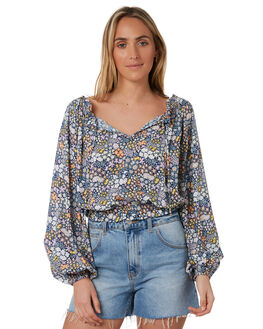 MULTI WOMENS CLOTHING TIGERLILY FASHION TOPS - T305053MLT