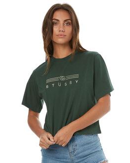 DARK BOTTLE WOMENS CLOTHING STUSSY TEES - ST173007DBOT