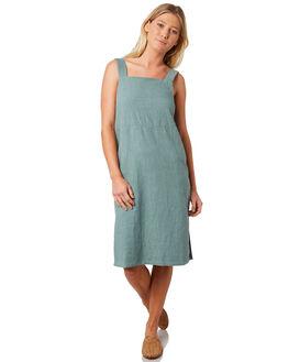 SEA FOAM WOMENS CLOTHING RUSTY DRESSES - DRL0929SEF