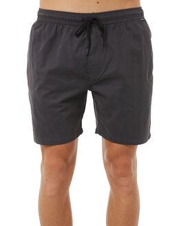 DARK CHAR MENS CLOTHING DEPACTUS BOARDSHORTS - D5183234DKCHR