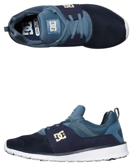 NAVY KHAKI MENS FOOTWEAR DC SHOES SNEAKERS - ADYS700071NKH