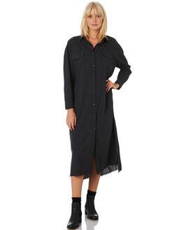 VINTAGE BLACK WOMENS CLOTHING THRILLS DRESSES - WTH9-913VBBLACK