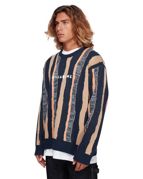 NAVY MENS CLOTHING BILLABONG KNITS + CARDIGANS - BB-9591850-NVY