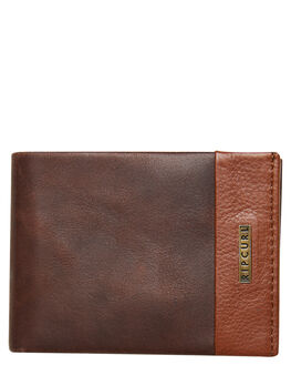 BROWN MENS ACCESSORIES RIP CURL WALLETS - BWLMN10009