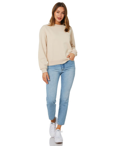 ALMOND WOMENS CLOTHING NUDE LUCY HOODIES + SWEATS - NU24188ALD