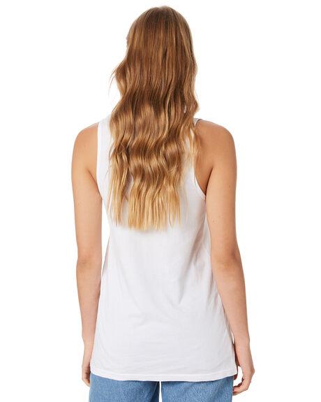 WHITE WOMENS CLOTHING AS COLOUR SINGLETS - ASC4040WHI