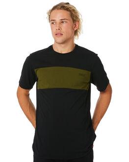 BLACK LEGION GREEN MENS CLOTHING HURLEY TEES - AR7106010
