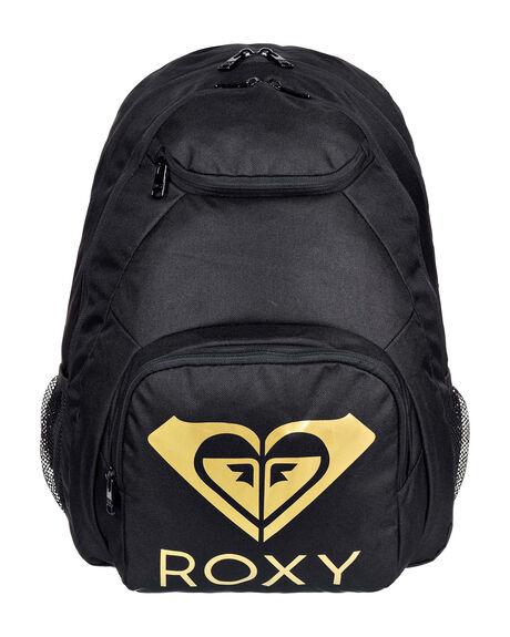 ANTHRACITE WOMENS ACCESSORIES ROXY BAGS + BACKPACKS - ERJBP04156-KVJ0