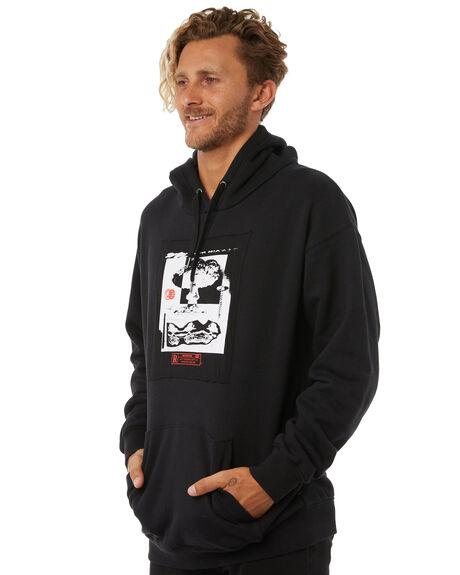 BLACK MENS CLOTHING RUSTY JUMPERS - FTM0828BLK