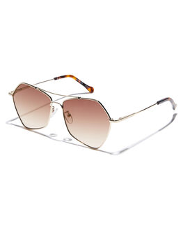 GOLD FIREBALL WOMENS ACCESSORIES SEAFOLLY SUNGLASSES - SEA1912605GLD