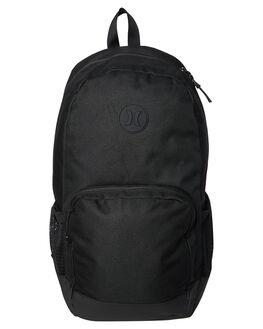 BLACK MENS ACCESSORIES HURLEY BAGS + BACKPACKS - HU0012010