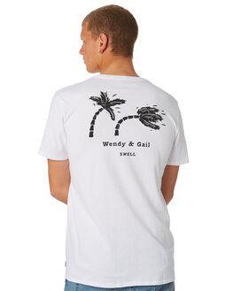 WHITE MENS CLOTHING SWELL TEES - S5184027WHITE