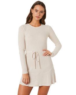 NATURAL WOMENS CLOTHING MINKPINK DRESSES - MB1809050NAT