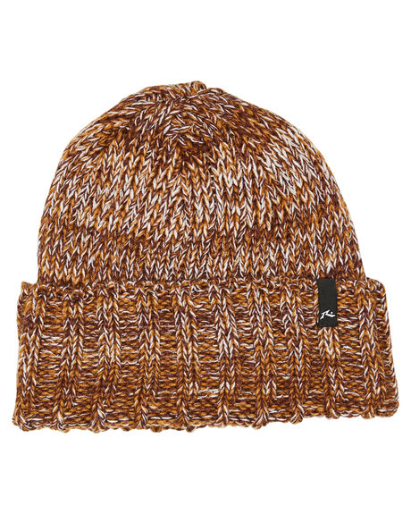 COFFEE BEAN MENS ACCESSORIES RUSTY HEADWEAR - HBM0420CFN