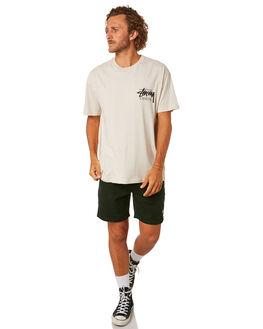 WHITE SAND MENS CLOTHING STUSSY TEES - ST092001WHTS
