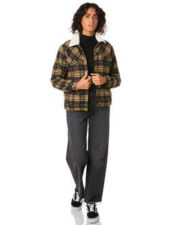 PLAID WOMENS CLOTHING RVCA JACKETS - R293438PLA