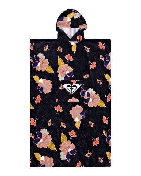 ANTHRACITE NEW TOWN WOMENS ACCESSORIES ROXY TOWELS - ERGAA03098-KVJ8