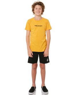 ORANGE KIDS BOYS ST GOLIATH TEES - 2420006ORNG