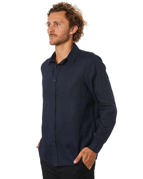 NAVY MENS CLOTHING MR SIMPLE SHIRTS - M-05-35-04NVY
