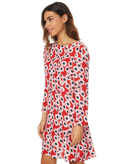 RED DAISY WOMENS CLOTHING ROLLAS DRESSES - 12247RED