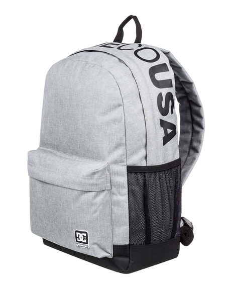 GREY HEATHER MENS ACCESSORIES DC SHOES BAGS + BACKPACKS - EDYBP03201-KNFH