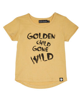 MUSTARD KIDS TODDLER BOYS LITTLE LORDS TEES - SS18005MSTRD