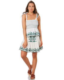 WHITE WOMENS CLOTHING TIGERLILY SKIRTS - T392285WHT
