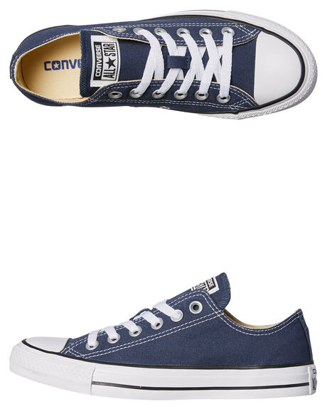 NAVY WOMENS FOOTWEAR CONVERSE SNEAKERS - SS19697NVY2W