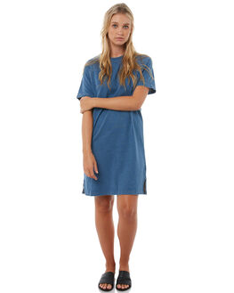 BLUE WOMENS CLOTHING SWELL DRESSES - S8182449BLUE