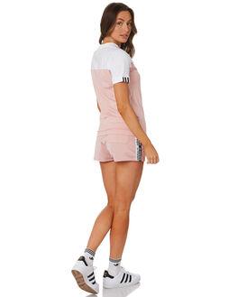 PINK SPIRIT WOMENS CLOTHING ADIDAS SHORTS - EC0748PINK