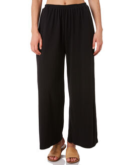 BLACK WOMENS CLOTHING ZULU AND ZEPHYR PANTS - ZZ2891BBLK