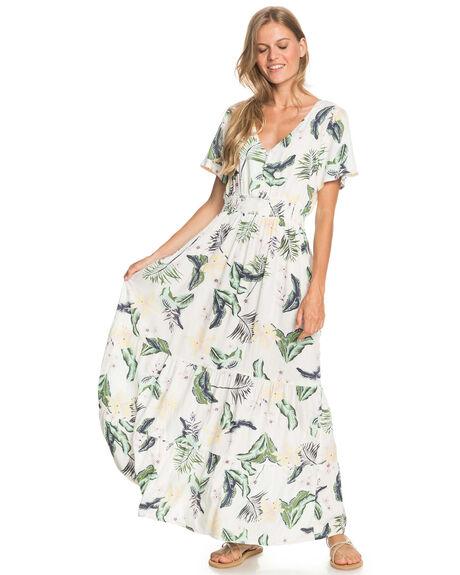 SNOW WHITE LARGE PRA WOMENS CLOTHING ROXY DRESSES - ERJWD03545-WBK8