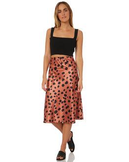 BLACK WOMENS CLOTHING LULU AND ROSE FASHION TOPS - LU23622BLK