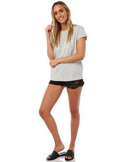 GREY MARLE WOMENS CLOTHING BILLABONG TEES - 6572015GREY