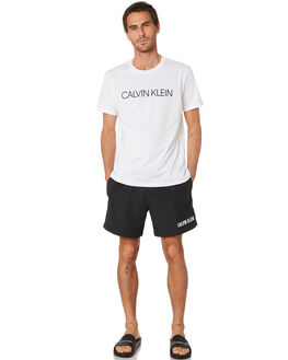 BLACK MENS CLOTHING CALVIN KLEIN BOARDSHORTS - KM00450-BEH