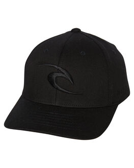 BLACK KIDS BOYS RIP CURL HEADWEAR - KCANW10090